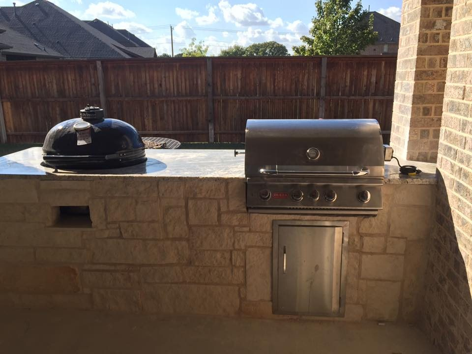 Dallas Backyard Kitchens